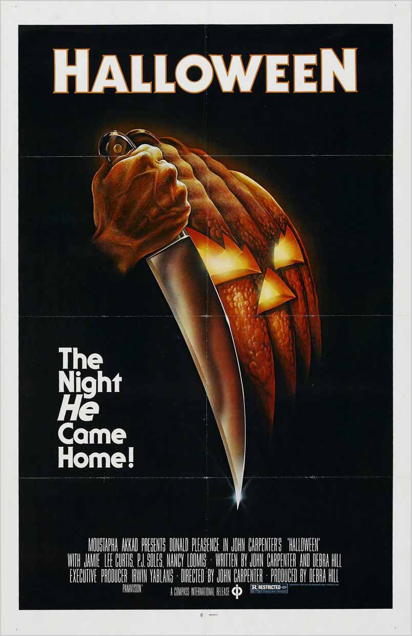 Film poster for Halloween