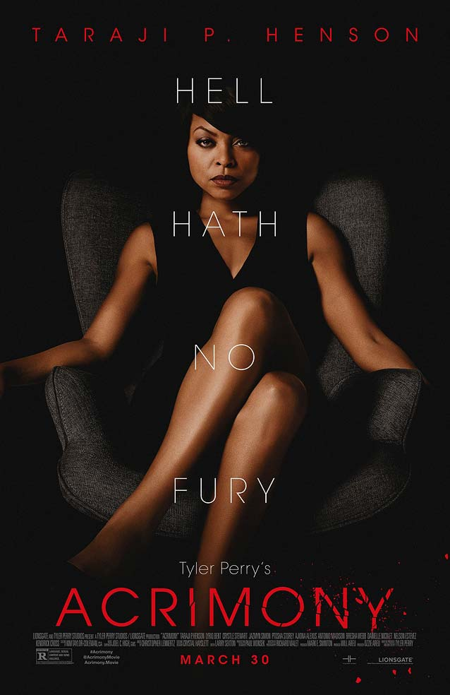 LA's theatrical one-sheet for Tyler Perry's Acrimony