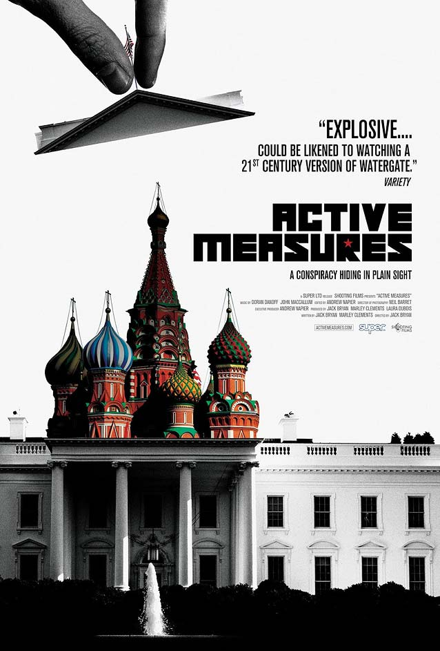 Theatrical one-sheet for Active Measures