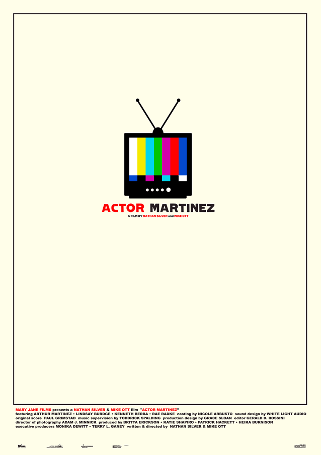 Film poster for Actor Martinez