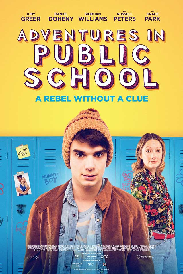 Theatrical one-sheet for Adventures in Public School