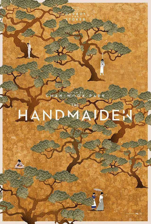 Film poster for The Handmaiden