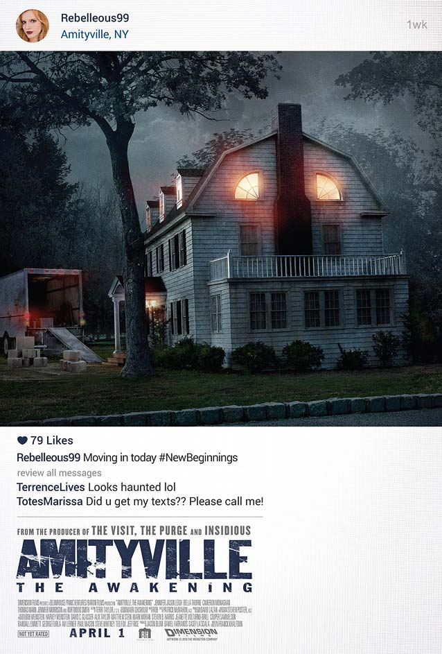 Film poster for Amityville: The Awakening