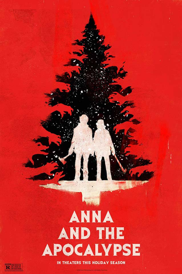 Alternate poster for Anna and The Apocalypse