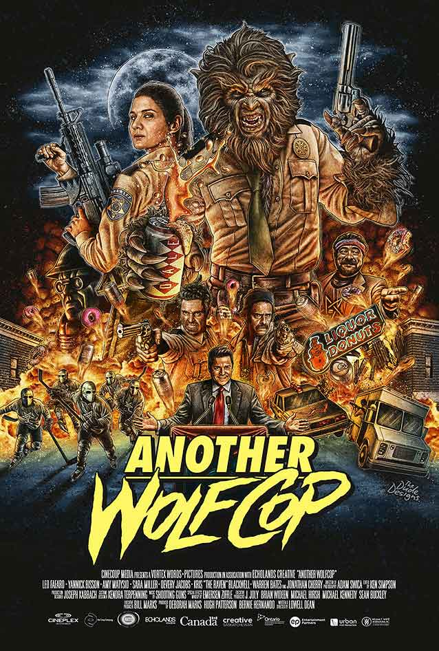 Poster by Tom Hodge for Another WolfCop