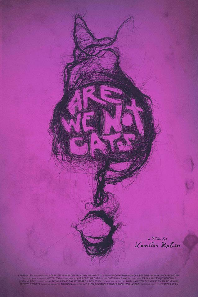 Poster for Are We Not Cats