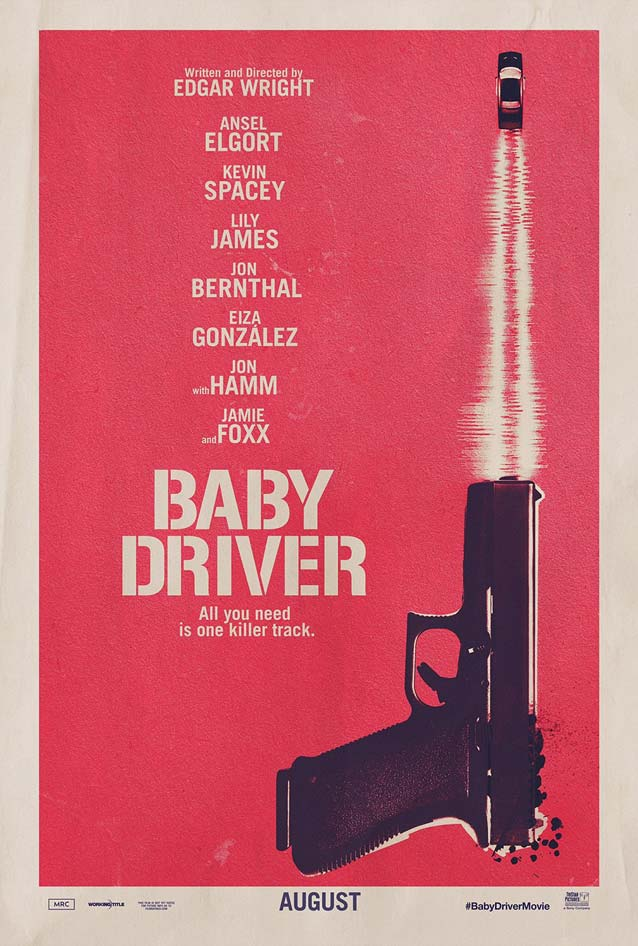 Poster for Baby Driver