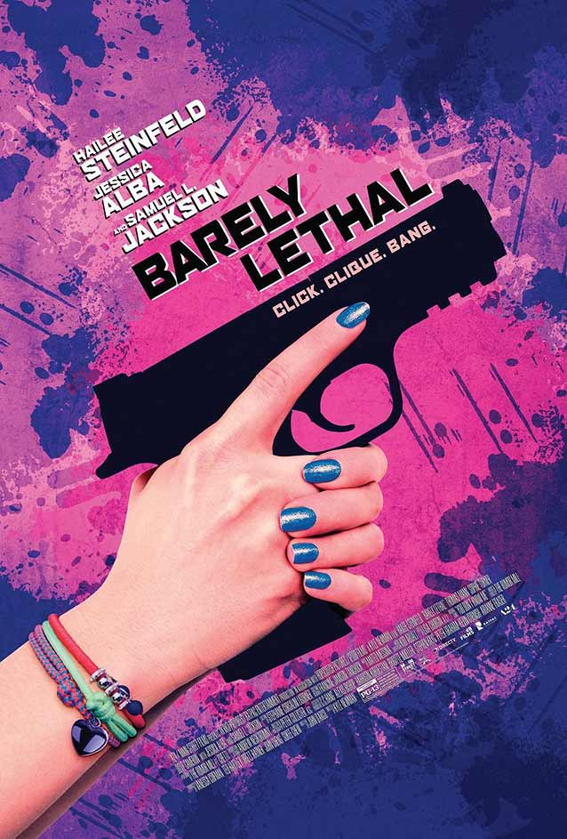 Poster for Barely Lethal