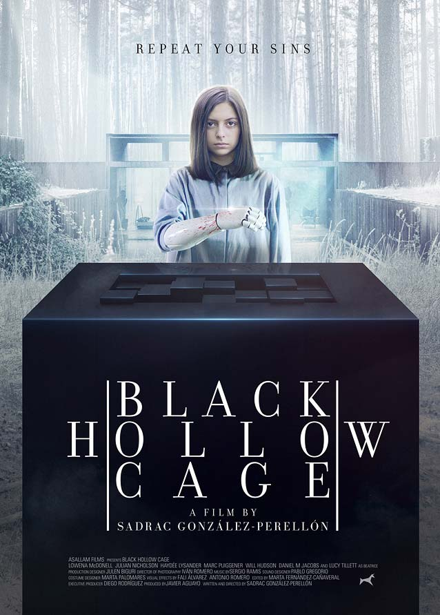 Daniel Fumero's main theatrical poster for Black Hollow Cage
