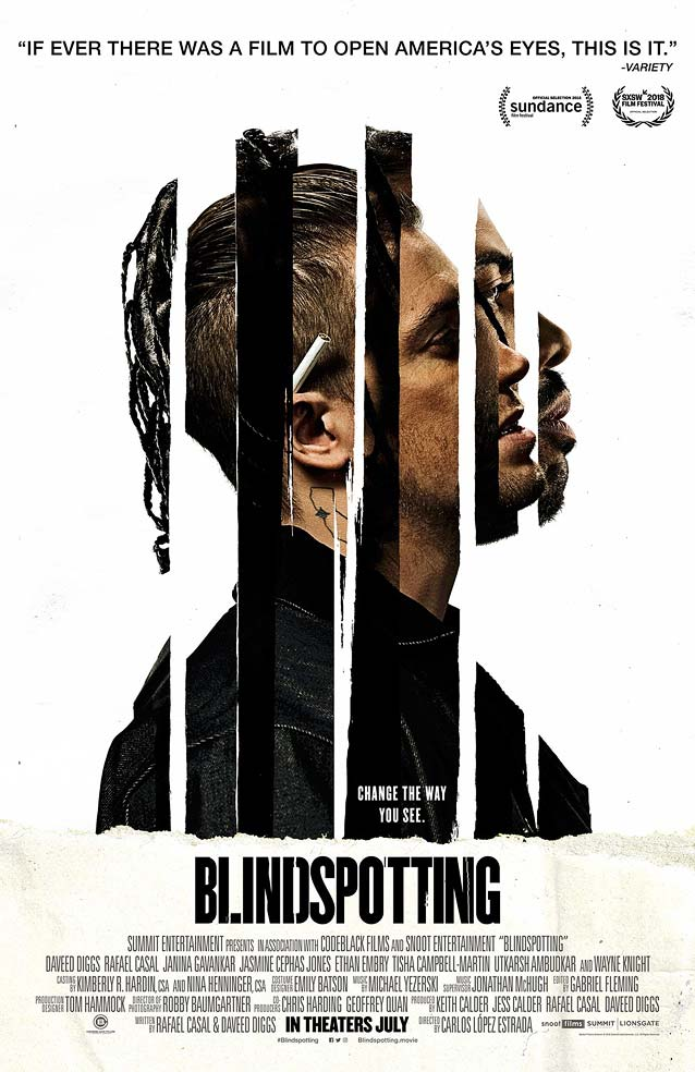 LA's theatrical one-sheet for Blindspotting