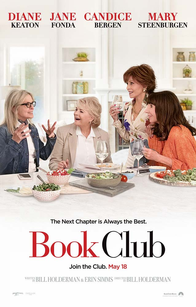 Theatrical one-sheet for Book Club