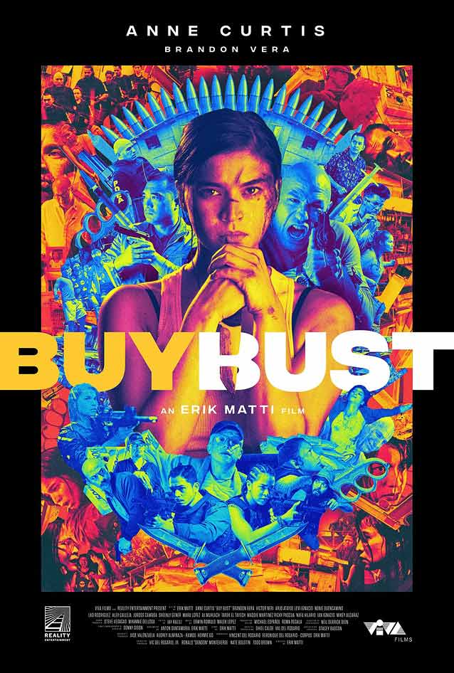 Theatrical one-sheet for BuyBust