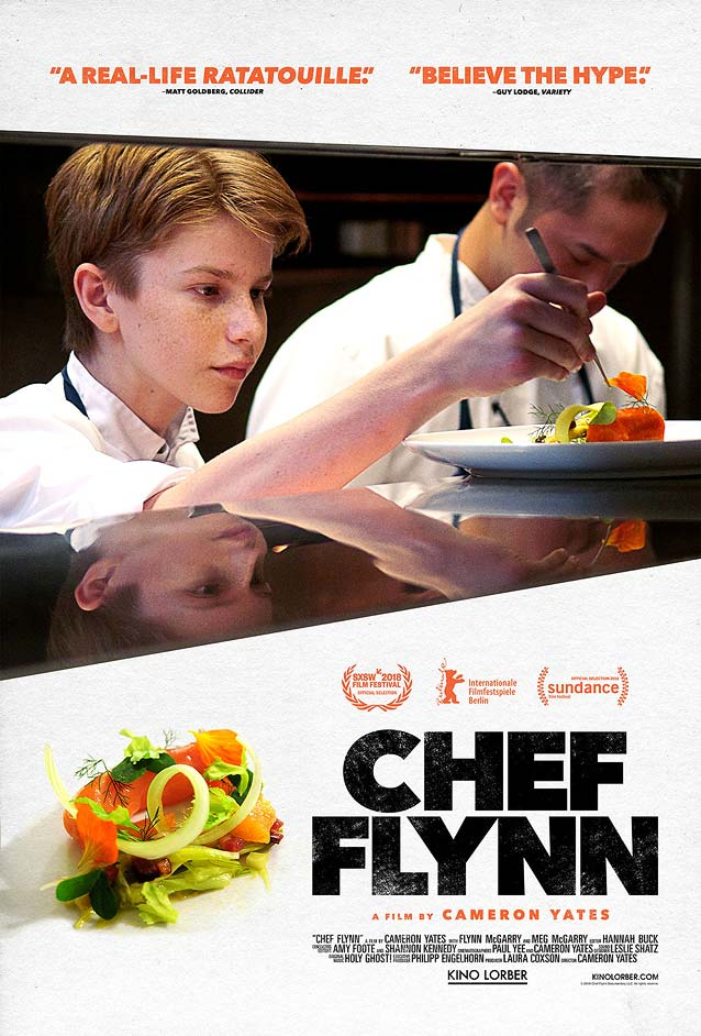Matt Frost's theatrical one-sheet for Chef Flynn