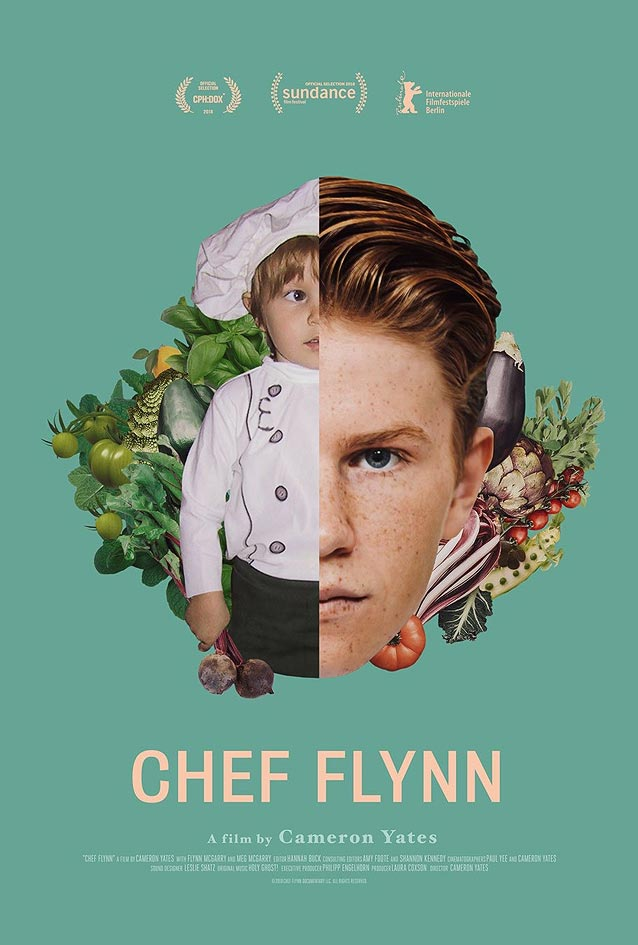 Palaceworks' theatrical one-sheet for Chef Flynn