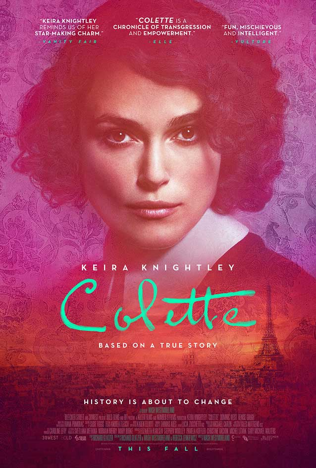 The Refinery's theatrical one-sheet for Colette