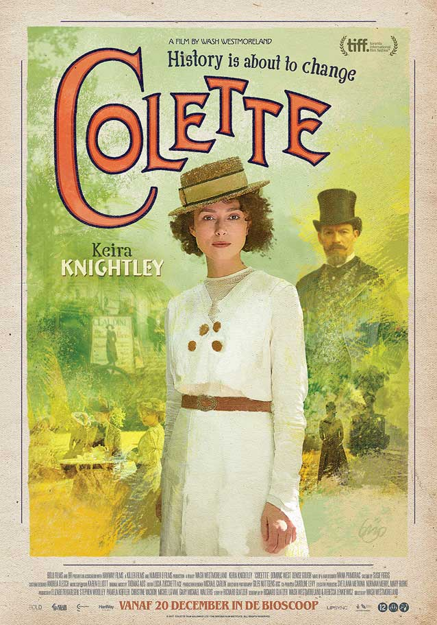 Regional Dutch-language one-sheet for Colette
