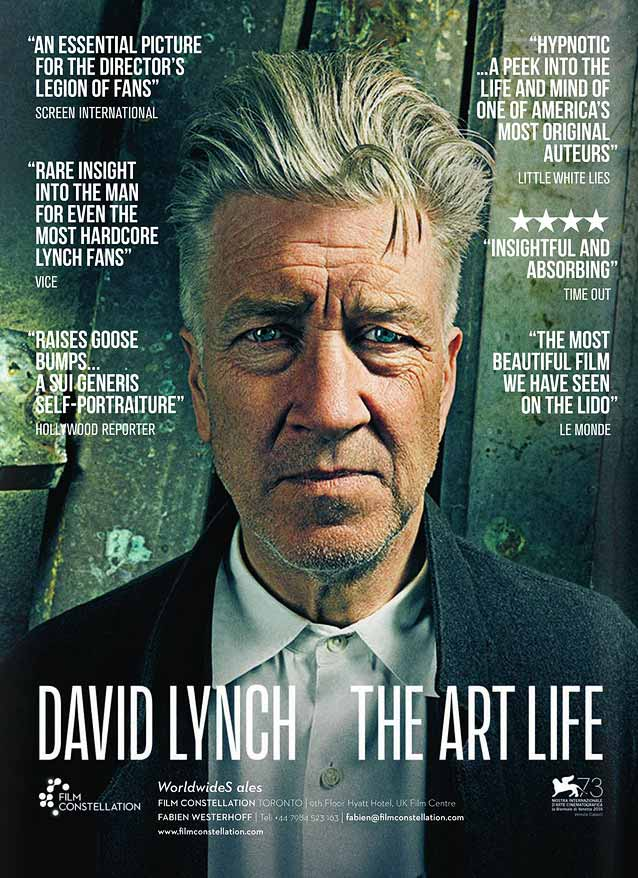 Film poster for David Lynch: The Art Life