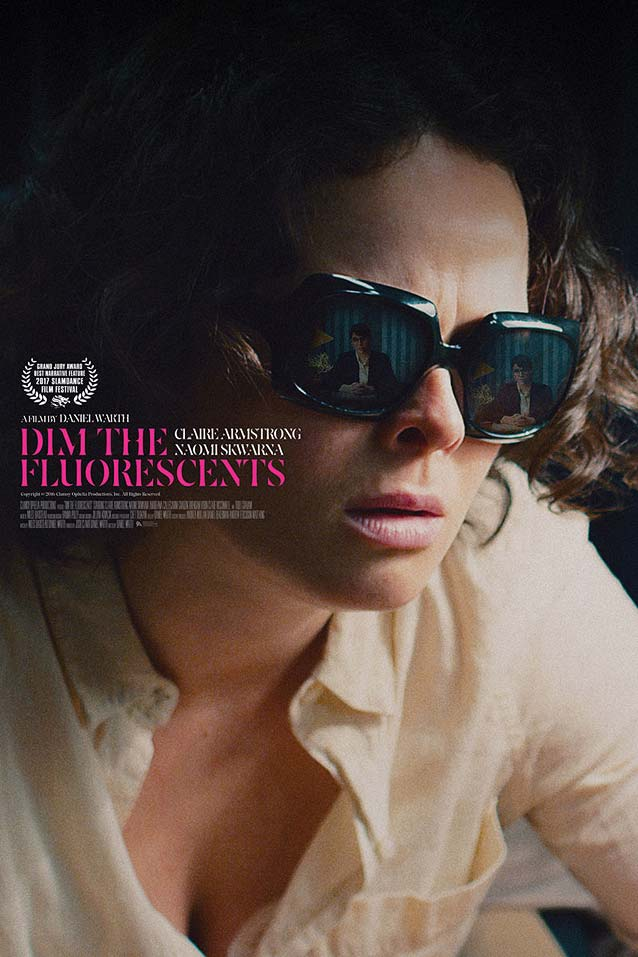 Main theatrical poster for Dim the Fluorescents