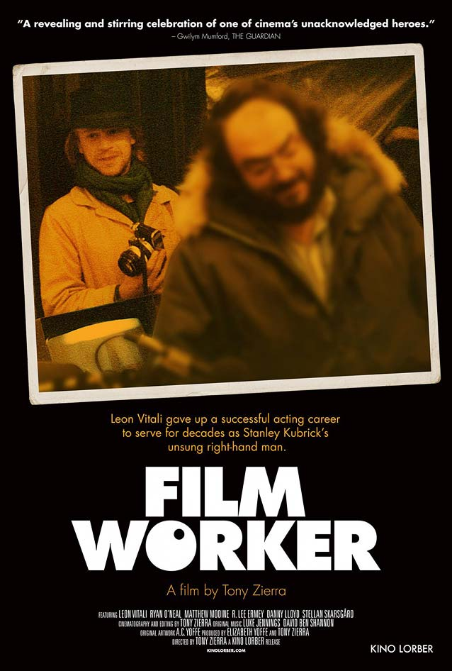 Theatrical one-sheet for Filmworker
