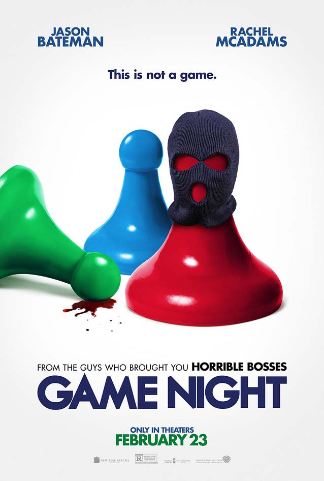 Leroy and Rose's teaser poster for Game Night