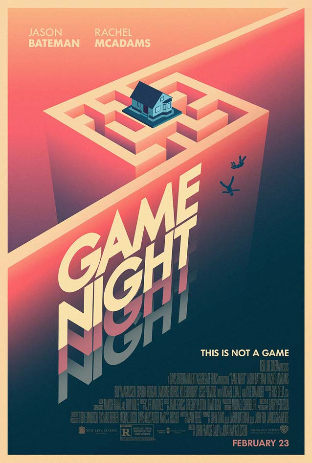 P+A's alternate poster for Game Night