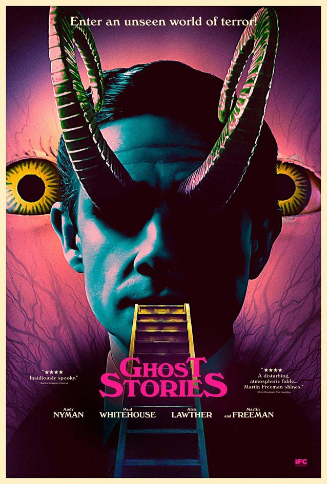 P+A's character poster for Ghost Stories