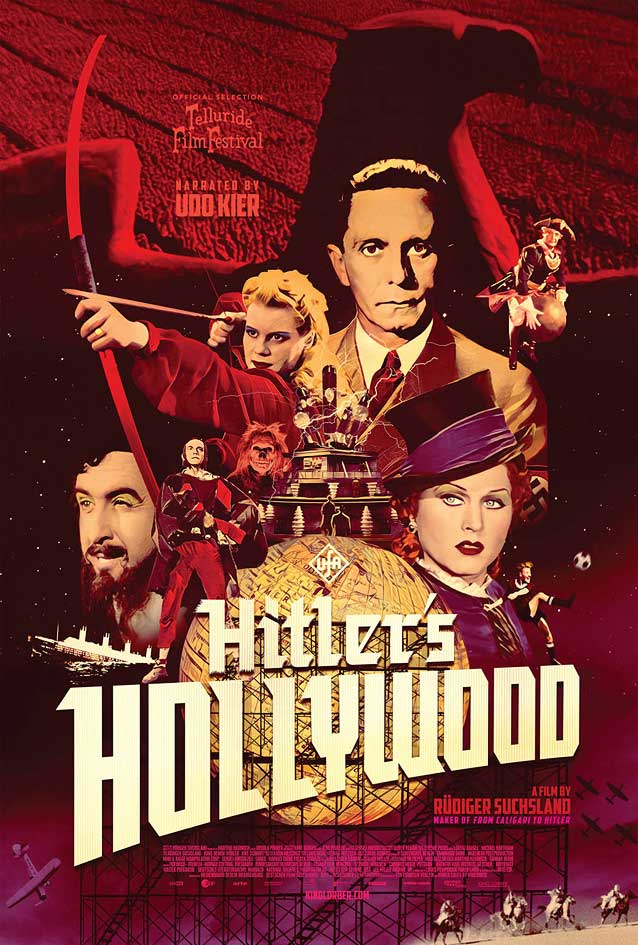 U.S. one-sheet for Hitler's Hollywood