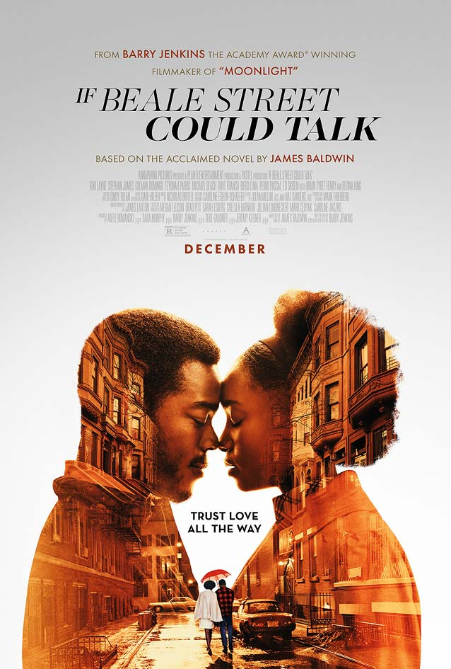 Gravillis' theatrical one-sheet for If Beale Street Could Talk
