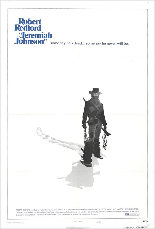 Alternate poster for Jeremiah Johnson