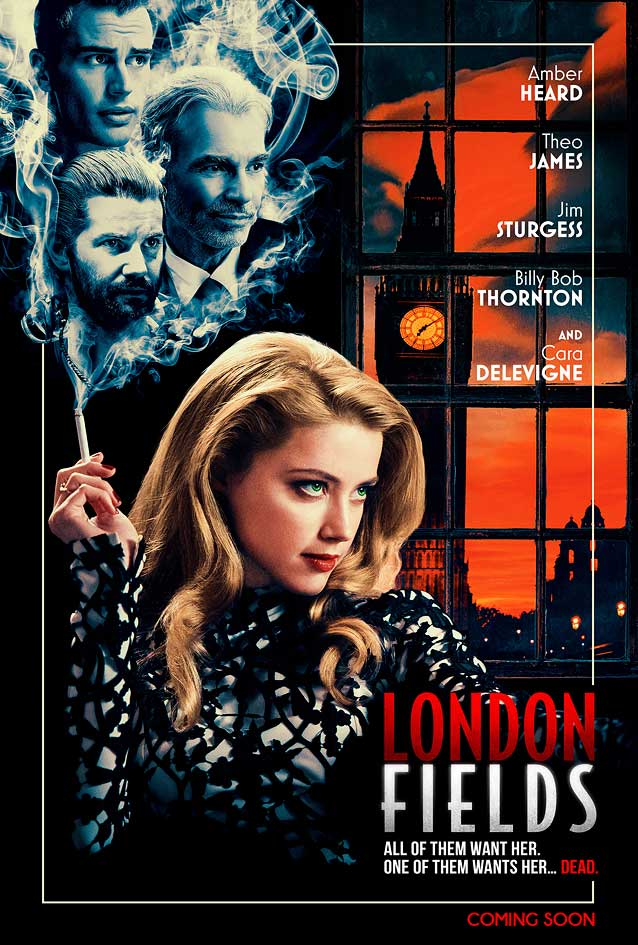 Theatrical one-sheet for London Fields