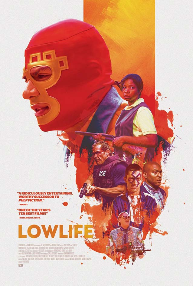 Brandon Schaefer's theatrical one-sheet for Lowlife