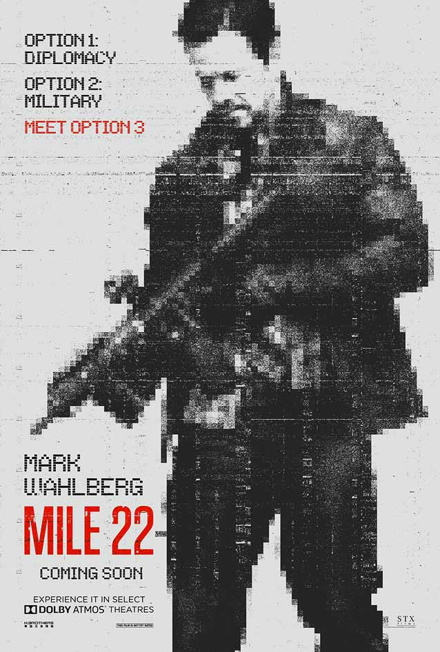 Theatrical one-sheet for Mile 22