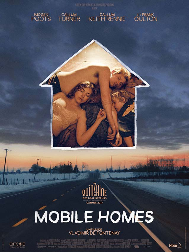 Le Cercle Noir's domestic poster for Mobile Homes