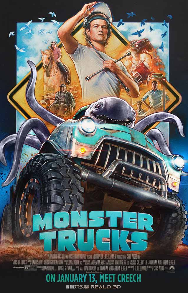 Film poster for Monster Trucks