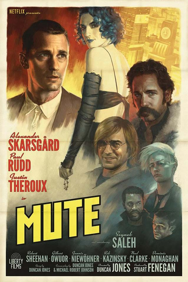 Alternate vintage poster for Mute