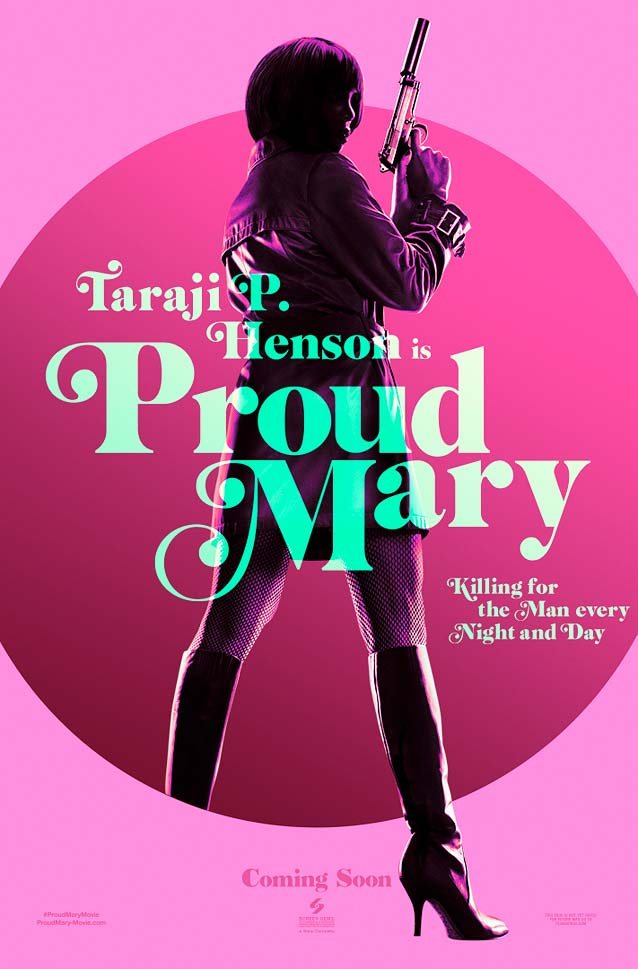 LA's teaser poster for Proud Mary