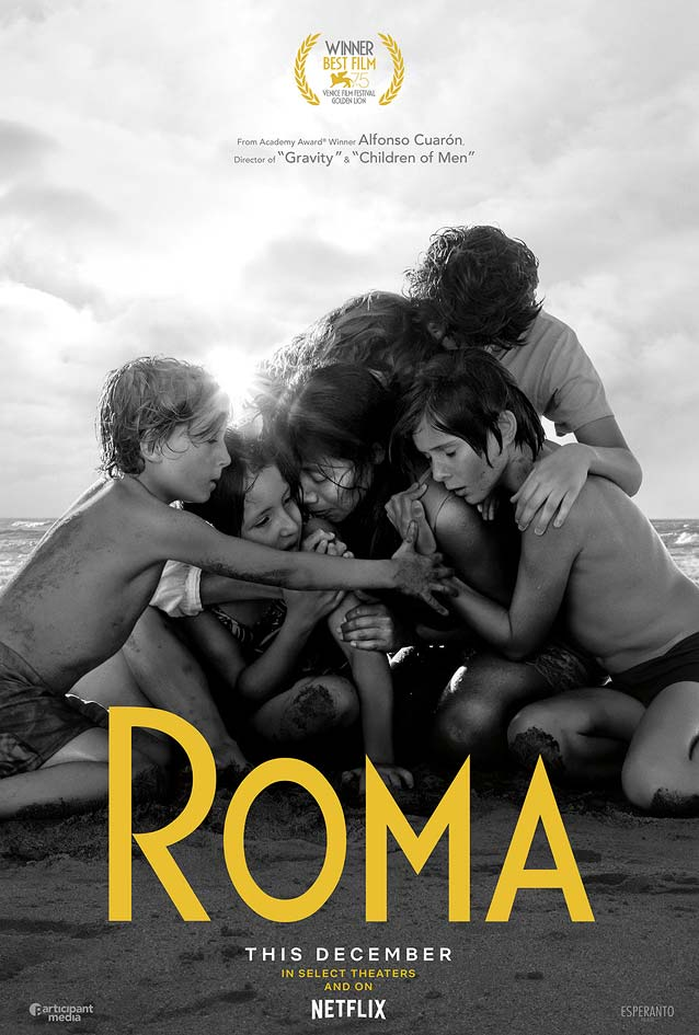 Concept Art's theatrical one-sheet for Roma