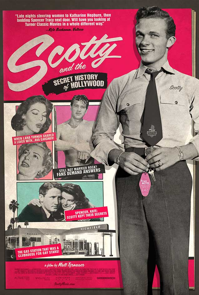 Theatrical one-sheet for Scotty and the Secret History of Hollywood