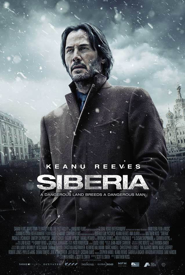 Kustom Creative's theatrical one-sheet for Siberia