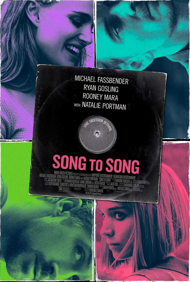 Film poster for Song to Song