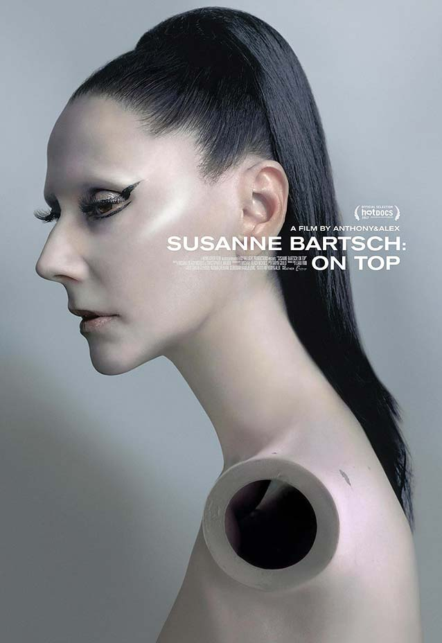LA's theatrical one-sheet for Susanne Bartsch: On Top