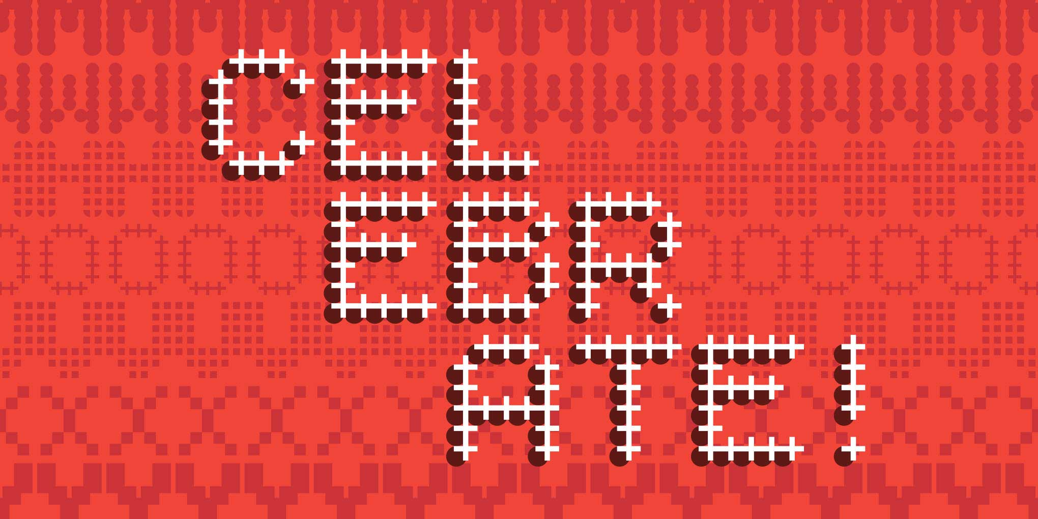 The Type Network #FestivalOfType holiday banner for Typetr