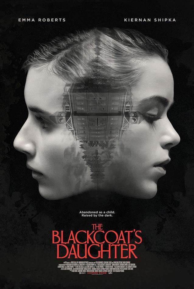 Film poster for The Blackcoat's Daughter