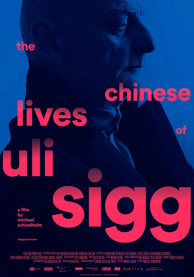 Poster for The Chinese Lives of Uli Sigg