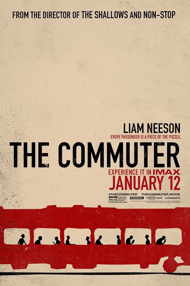 Internet poster for The Commuter