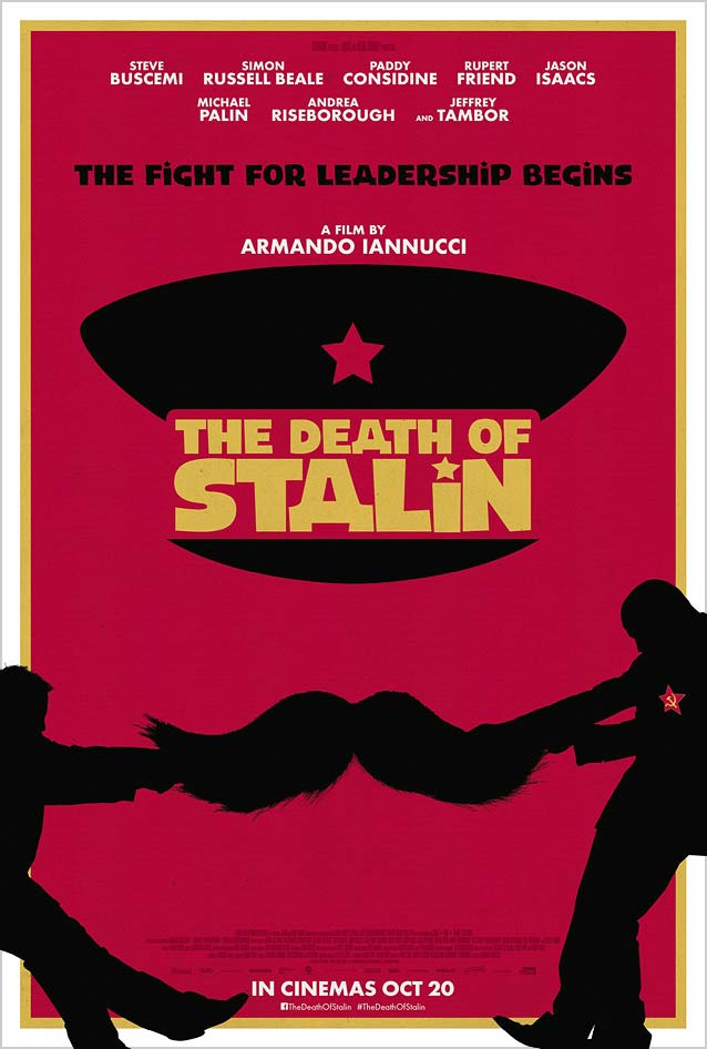 AllCity's teaser one-sheet for The Death of Stalin