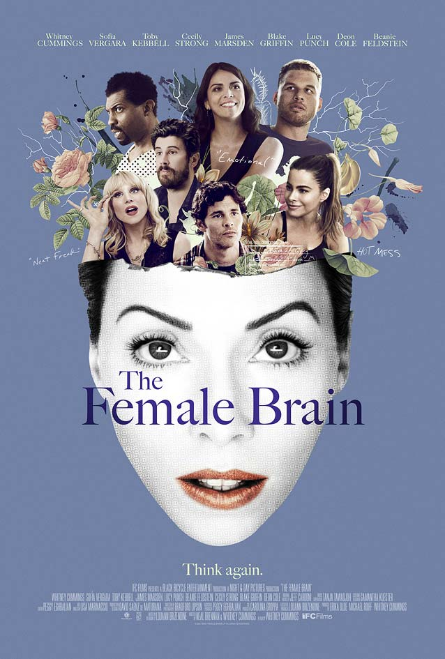 The Refinery's main theatrical poster for The Female Brain