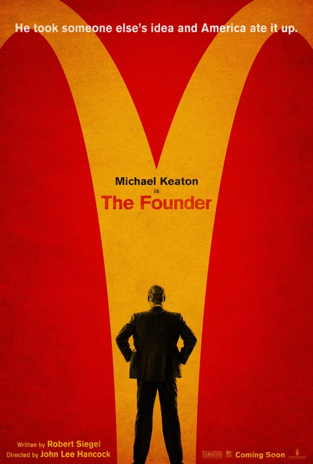 Film poster for The Founder
