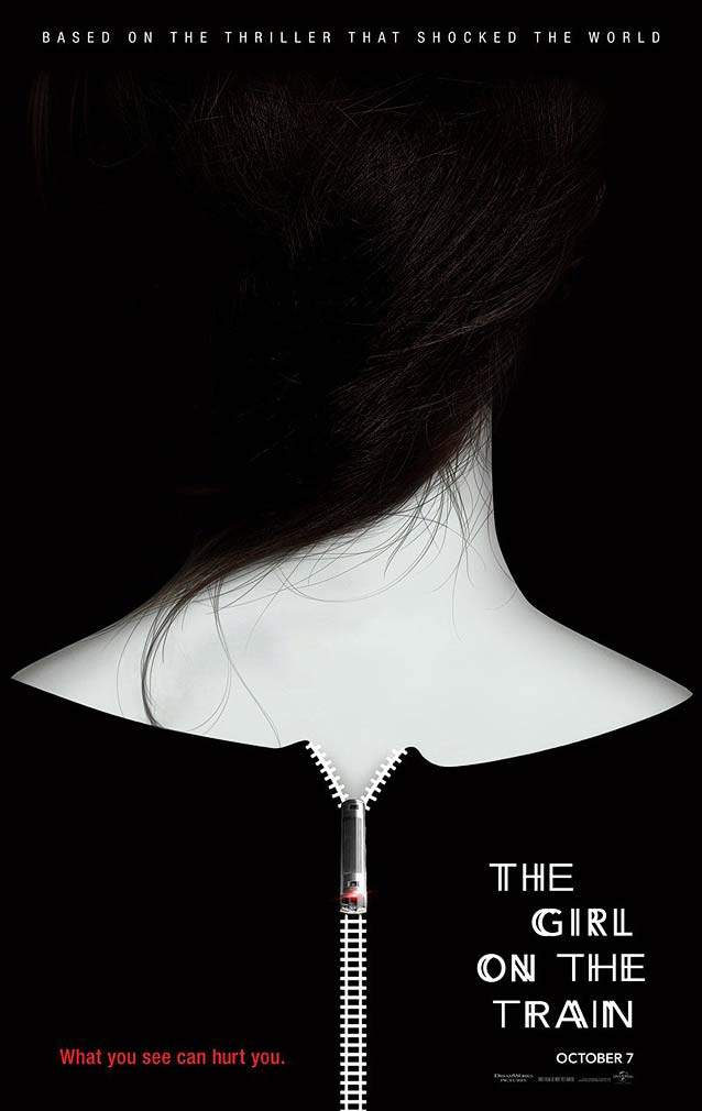 Film poster for The Girl on The Train
