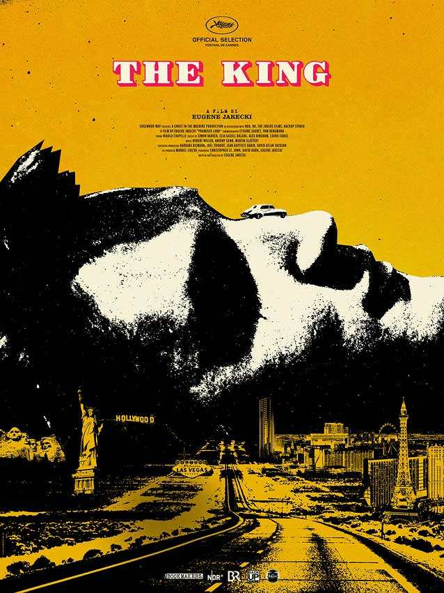 Midnight Marauder's festival poster for The King